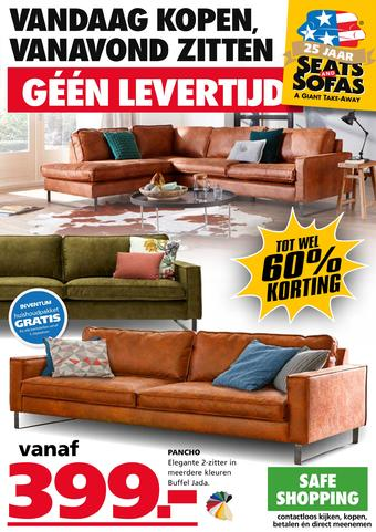 Seats and Sofas reclame folder (geldig t/m 05-07)