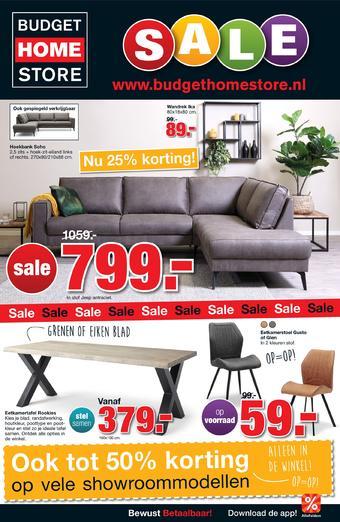 Budget Home Store reclame folder (geldig t/m 26-07)
