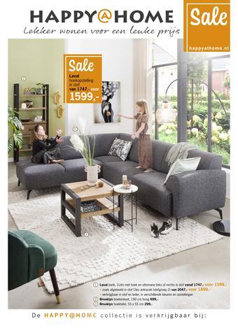 Happy@Home reclame folder (geldig t/m 30-08)