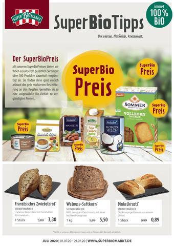 Superbiomarkt Prospekt (bis einschl. 21-07)