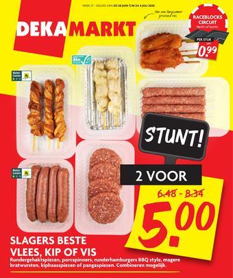 Dekamarkt reclame folder (geldig t/m 04-07)