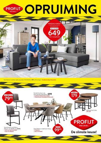 Profijt Meubel reclame folder (geldig t/m 26-07)