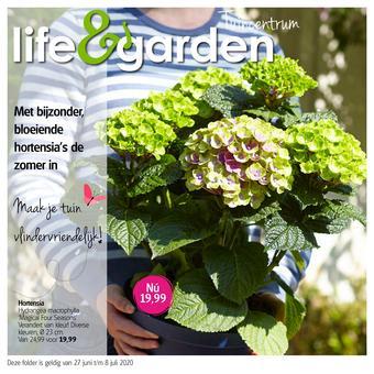 Life & Garden reclame folder (geldig t/m 08-07)