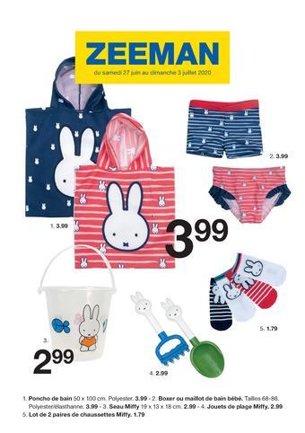 Zeeman catalogue publicitaire (valable jusqu'au 03-07)
