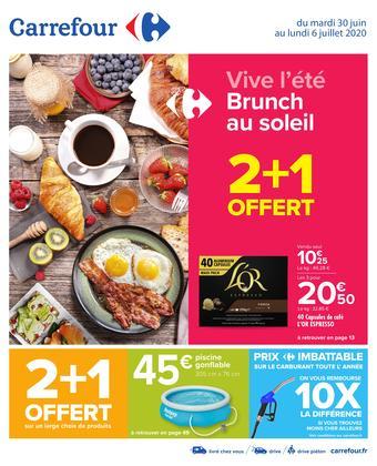 Carrefour catalogue publicitaire (valable jusqu'au 06-07)