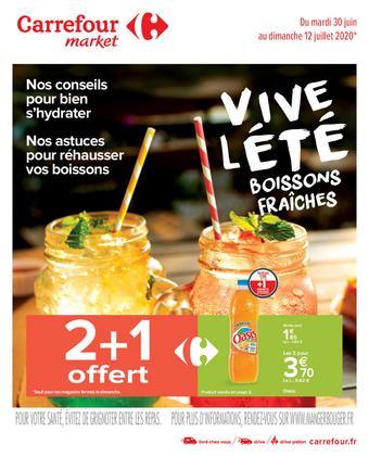 Carrefour Market catalogue publicitaire (valable jusqu'au 12-07)