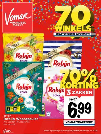 Vomar reclame folder (geldig t/m 04-07)