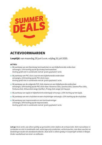 Carpetright reclame folder (geldig t/m 31-07)