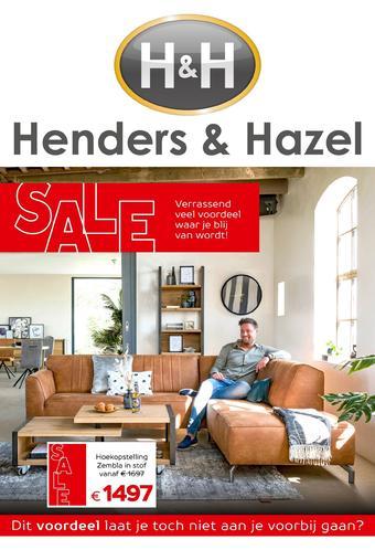 Henders & Hazel reclame folder (geldig t/m 22-07)