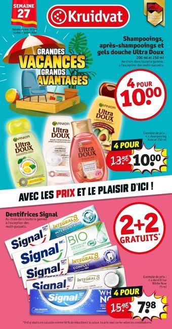 Kruidvat catalogue publicitaire (valable jusqu'au 05-07)