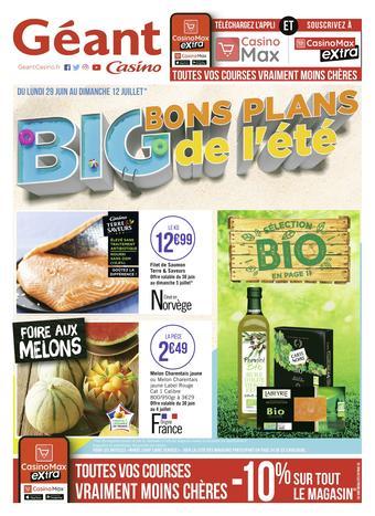 Géant Casino catalogue publicitaire (valable jusqu'au 12-07)