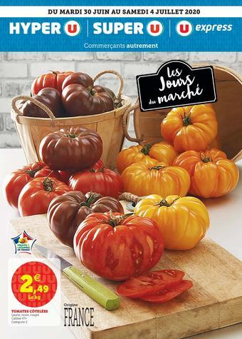 Super U catalogue publicitaire (valable jusqu'au 04-07)