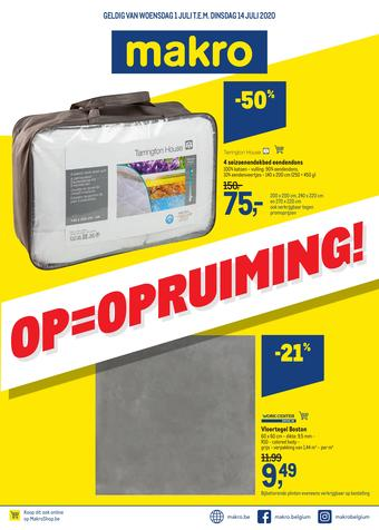 Makro reclame folder (geldig t/m 14-07)
