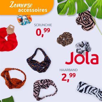 Jola Mode reclame folder (geldig t/m 31-07)