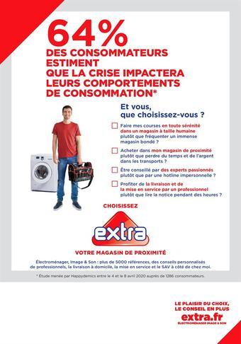 Extra catalogue publicitaire (valable jusqu'au 08-08)