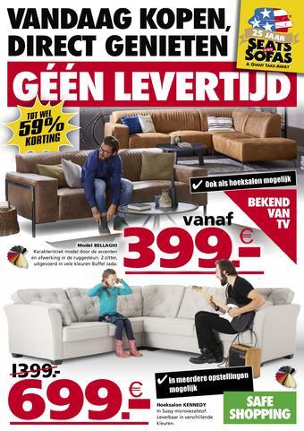 Seats and Sofas reclame folder (geldig t/m 07-07)