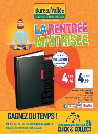 Bureau Vallée catalogue publicitaire (valable jusqu'au 11-07)