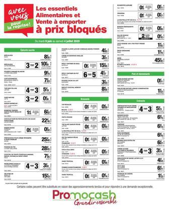 Promocash catalogue publicitaire (valable jusqu'au 04-07)