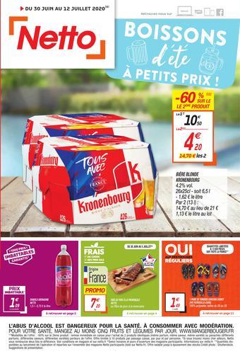 Netto catalogue publicitaire (valable jusqu'au 12-07)