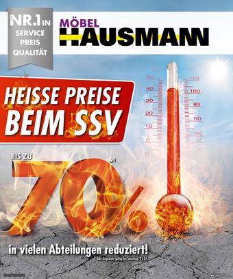 Möbel Hausmann Prospekt (bis einschl. 26-07)