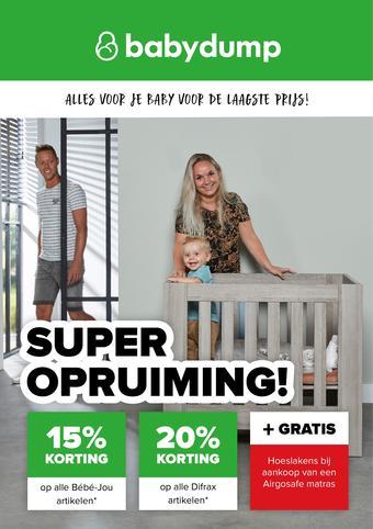 Baby-Dump reclame folder (geldig t/m 01-08)