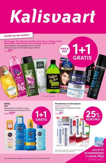 Kalisvaart Drogisterij Beautystore reclame folder (geldig t/m 12-07)