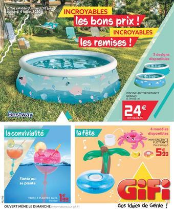 Gifi catalogue publicitaire (valable jusqu'au 06-07)