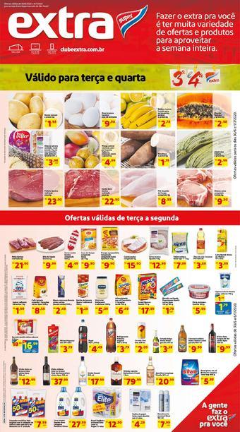 Extra Supermercado catálogo promocional (válido de 10 até 17 06-07)