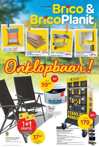 BricoPlanit reclame folder (geldig t/m 13-07)