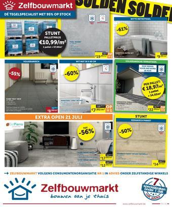 Zelfbouwmarkt reclame folder (geldig t/m 27-07)