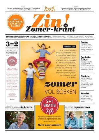 Standaard Boekhandel reclame folder (geldig t/m 31-08)