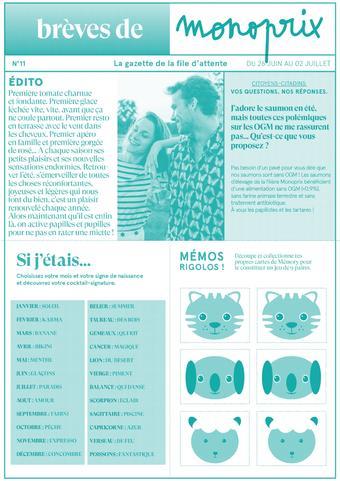 Monoprix catalogue publicitaire (valable jusqu'au 02-07)