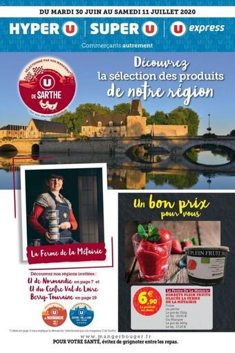 Super U catalogue publicitaire (valable jusqu'au 11-07)