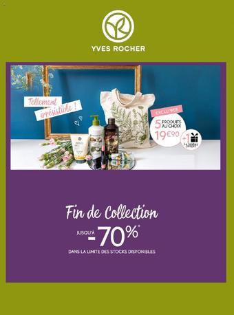 Yves Rocher catalogue publicitaire (valable jusqu'au 31-07)