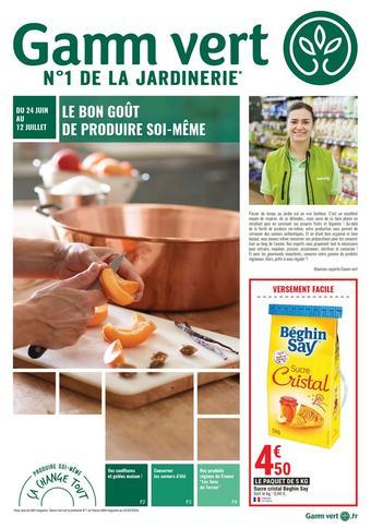 Gamm vert catalogue publicitaire (valable jusqu'au 12-07)