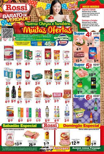 Rossi Supermercado catálogo promocional (válido de 10 até 17 07-07)