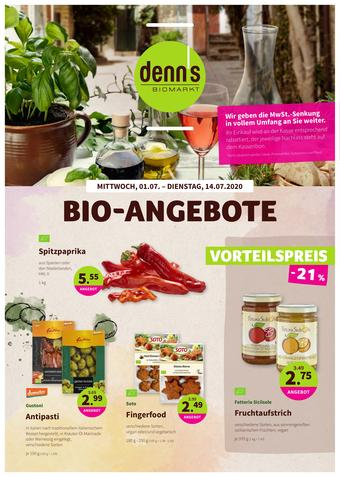 denn's Biomarkt Prospekt (bis einschl. 14-07)