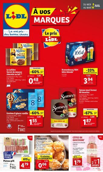 Lidl catalogue publicitaire (valable jusqu'au 14-07)