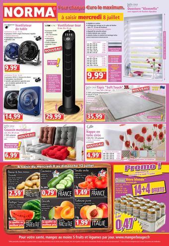 Norma catalogue publicitaire (valable jusqu'au 14-07)