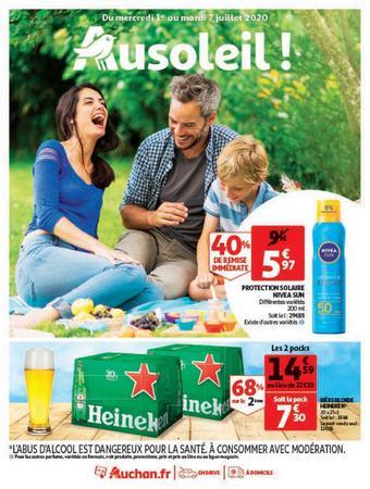 Auchan reclame folder (geldig t/m 07-07)