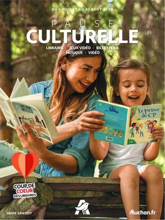 Auchan catalogue publicitaire (valable jusqu'au 30-08)