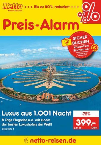 Netto Reisen Prospekt (bis einschl. 31-07)