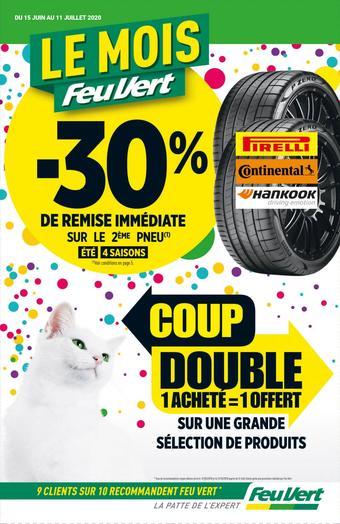Feu Vert catalogue publicitaire (valable jusqu'au 11-07)