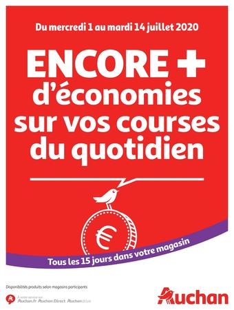 Auchan catalogue publicitaire (valable jusqu'au 14-07)