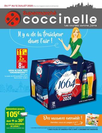 Coccinelle Supermarché catalogue publicitaire (valable jusqu'au 12-07)