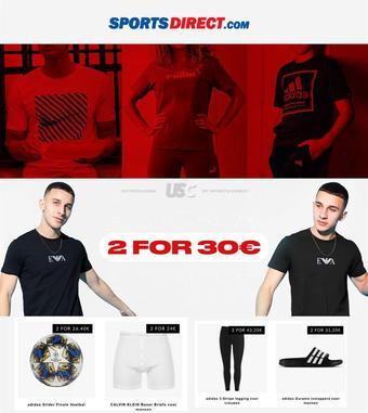Sports Direct reclame folder (geldig t/m 17-08)