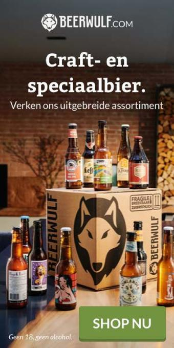Beerwulf reclame folder (geldig t/m 31-07)