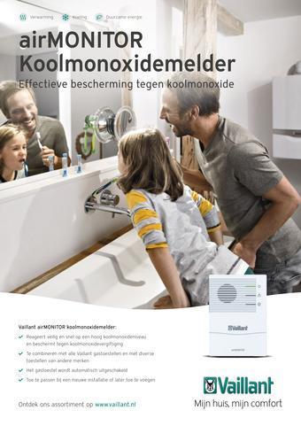 Vaillant reclame folder (geldig t/m 31-07)