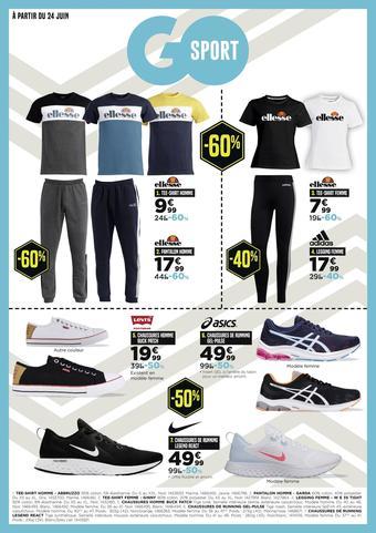 Go Sport catalogue publicitaire (valable jusqu'au 14-07)