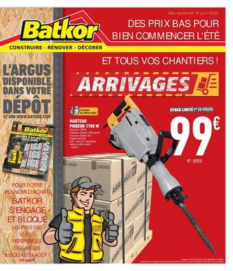 Batkor catalogue publicitaire (valable jusqu'au 04-07)